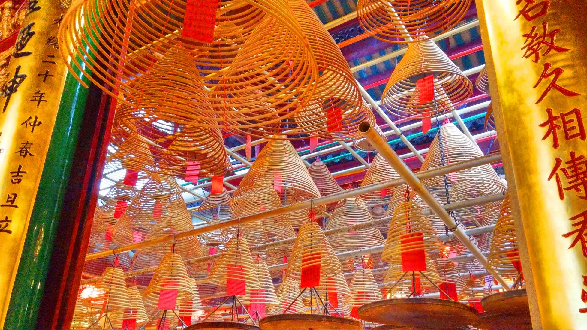Man-Mo-Temple-Sheung-Wan-incense-coils