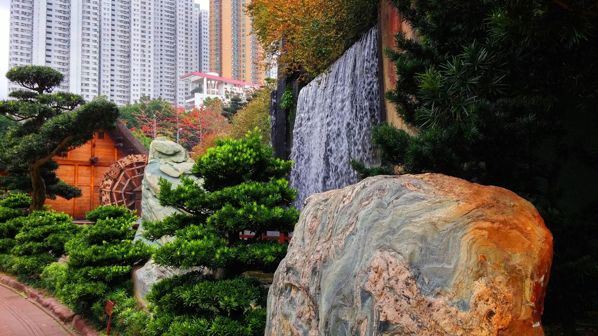 Nan-Lian-Garden-waterfall