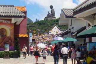 Ngong-Ping-Village-Big-Buddha-as-the-backdrop
