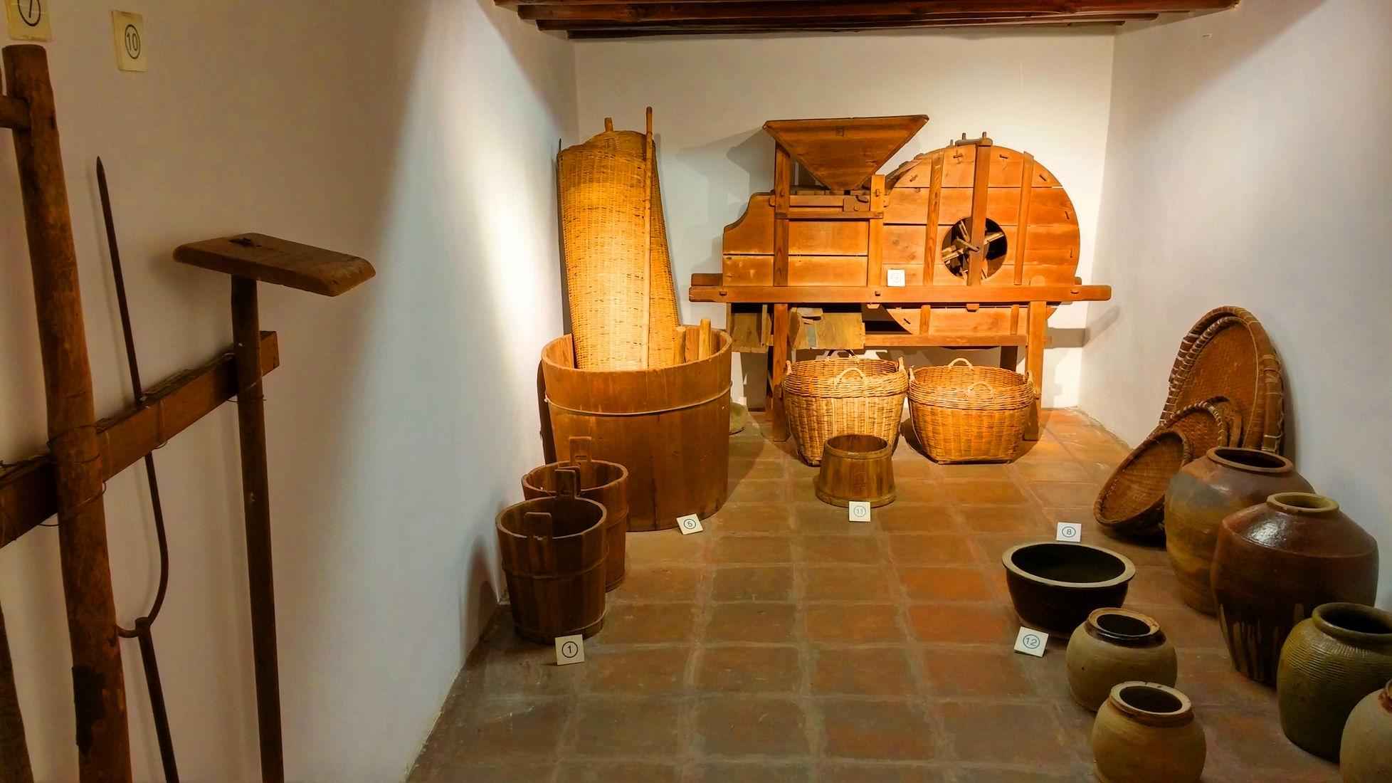 Sam Tung Uk Folk Museum farming tool exhibits