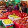 Shau Kei Wan Market fruit stall