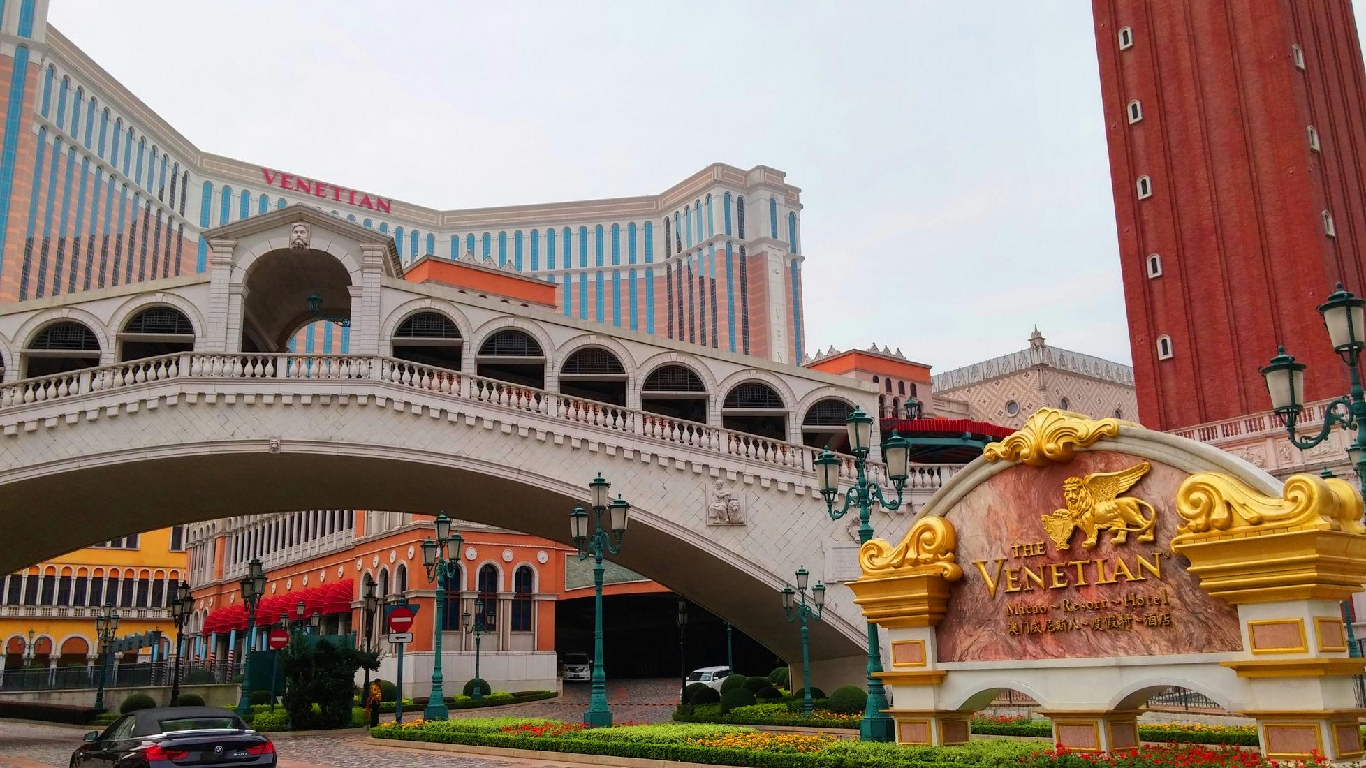 Venetian resort Cotai Macau