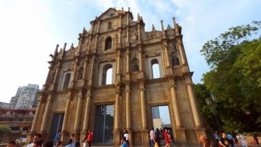 St Paul's Ruins facade