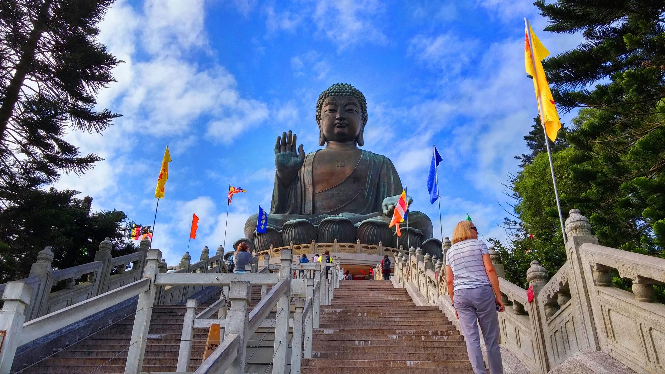 268 steps to Big Buddha