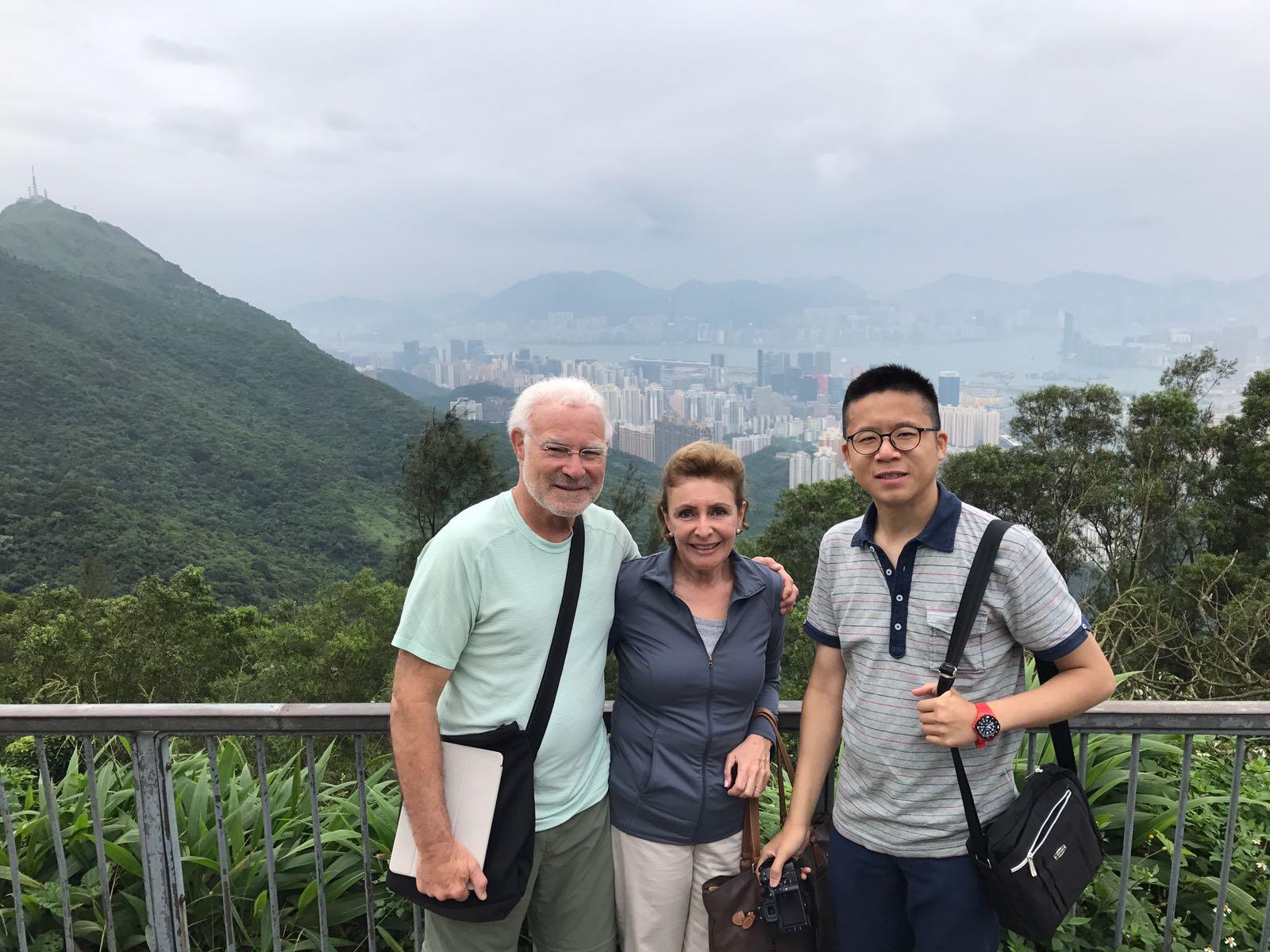 Frank clients Kowloon Peak