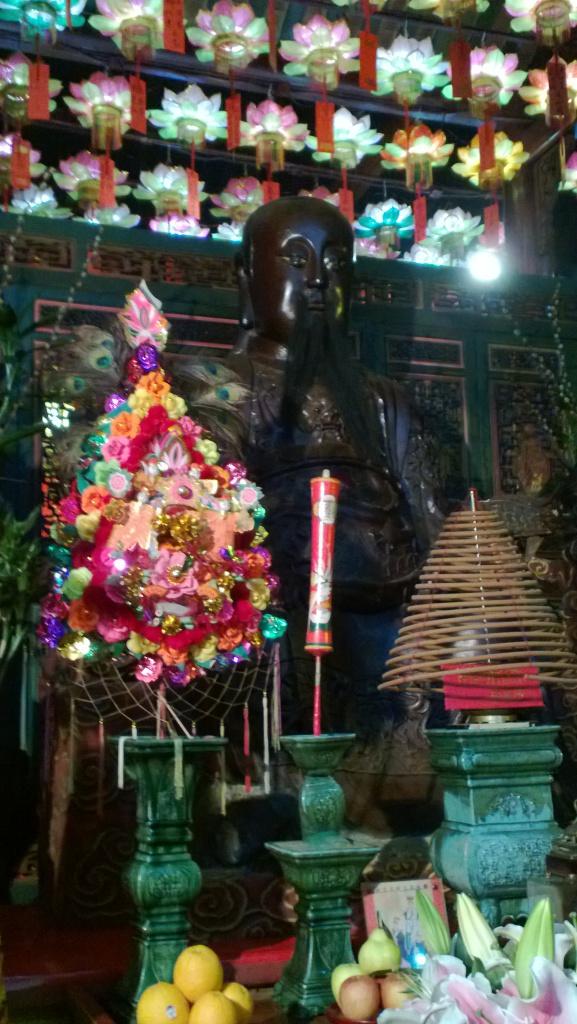 black Pak Tai Statue
