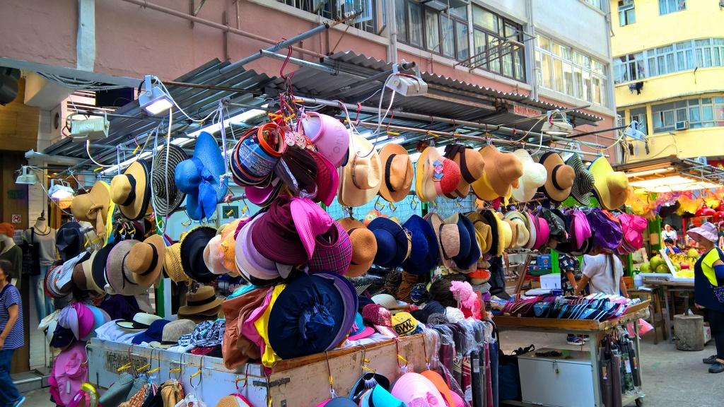 Mong Kok Fa Yuen Street Hat Stall