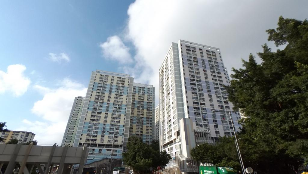 Public housing blocks of Wah Fu Estate