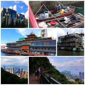 Big contrasts in Hong Kong