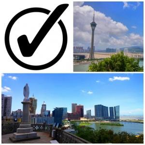 Macau private tour checklist
