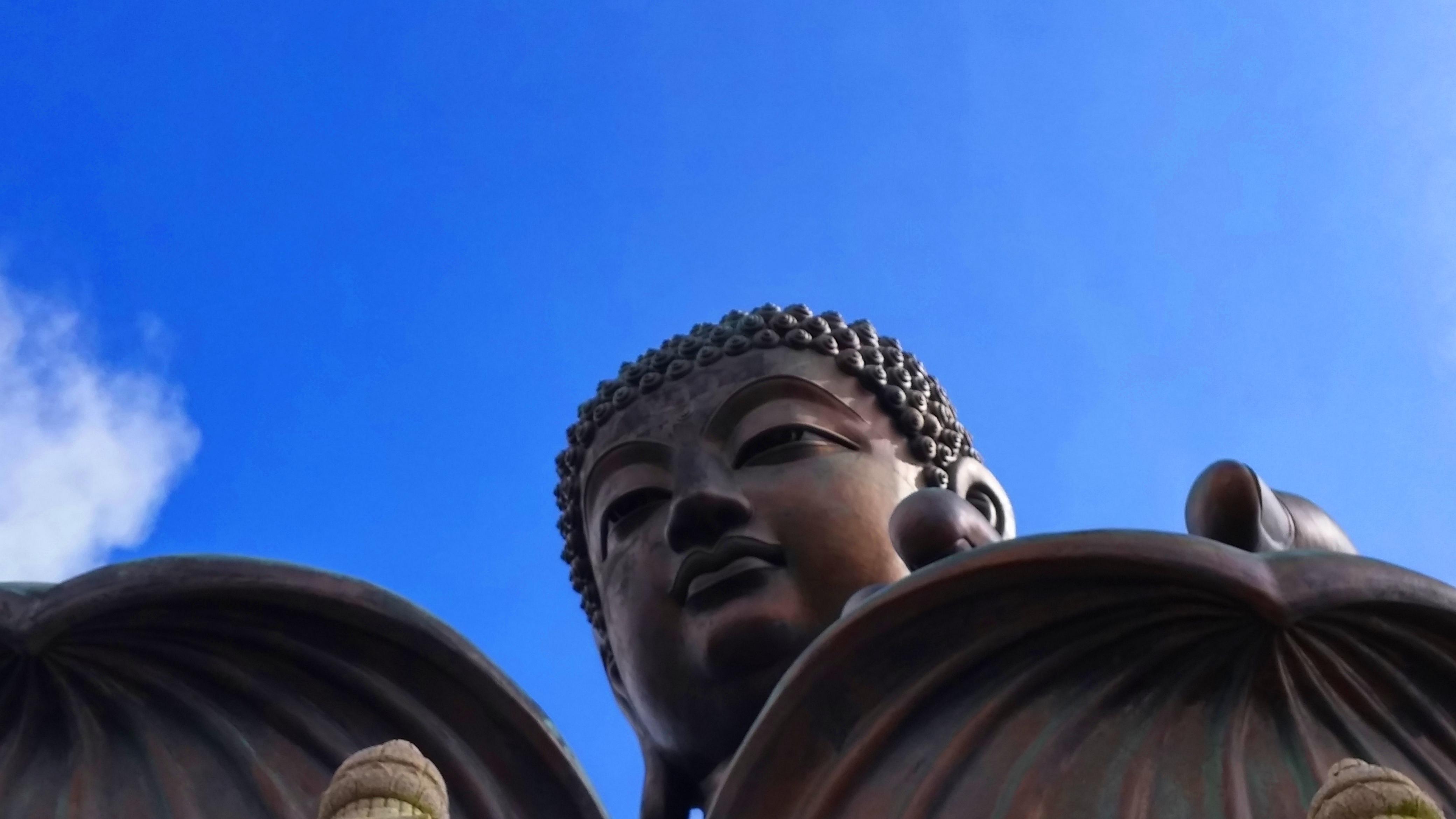 Big Buddha close up