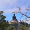 Big Buddha from Po Lin Monastery Ngong Ping Lantau Island