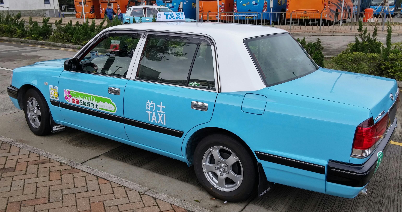 Lantau taxi ride
