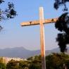 Sha Tin Town view from Tao Fong Shan Christian Centre
