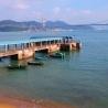 Ting Kau Bridge and Tsing Ma Bridge from Sham Tseng