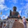 Walk up the Ngong Ping Big Buddha