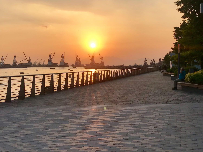 Sunset at Hoi Fai Road Lookout
