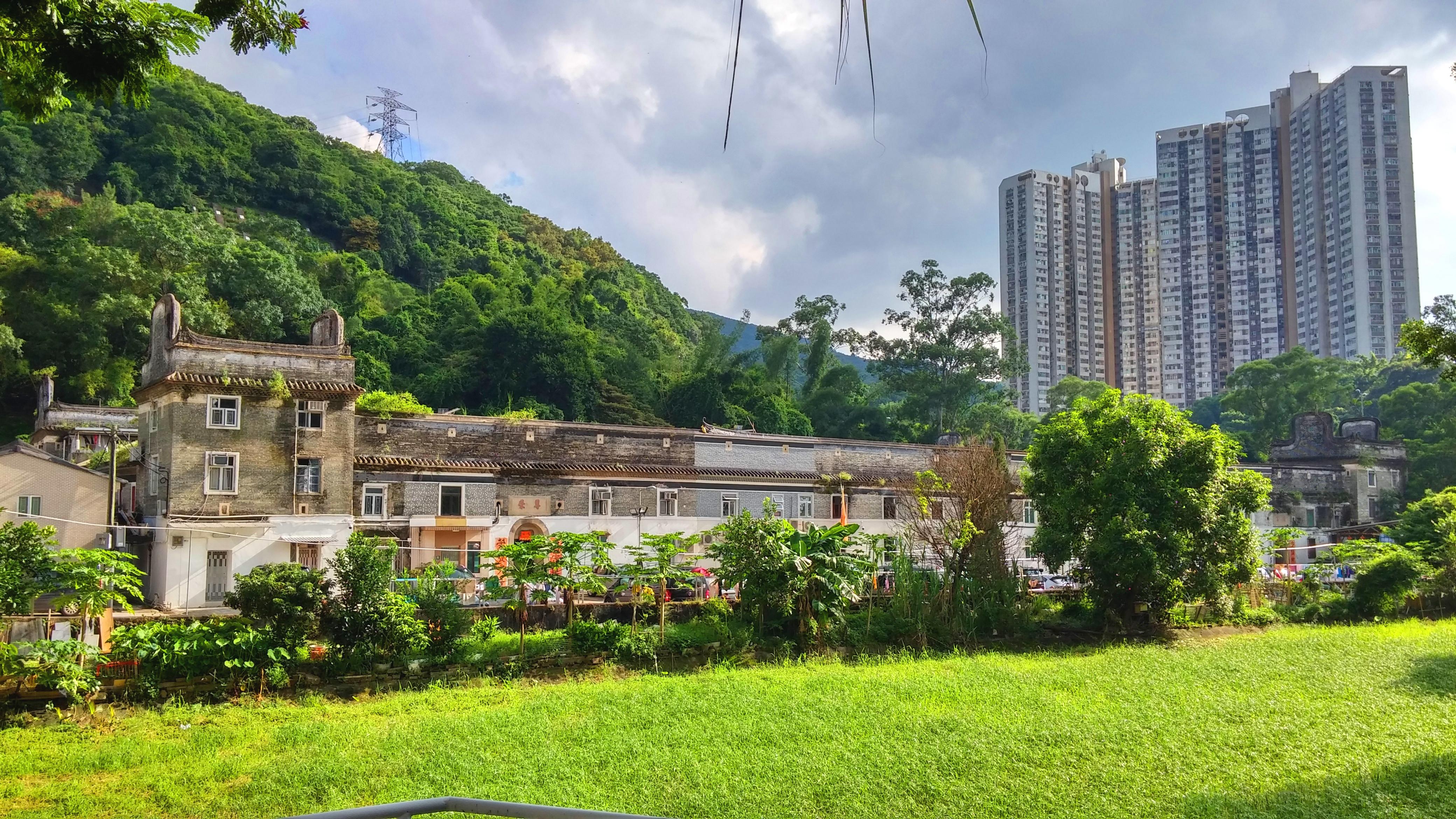 Tsang Tai Uk Walled House