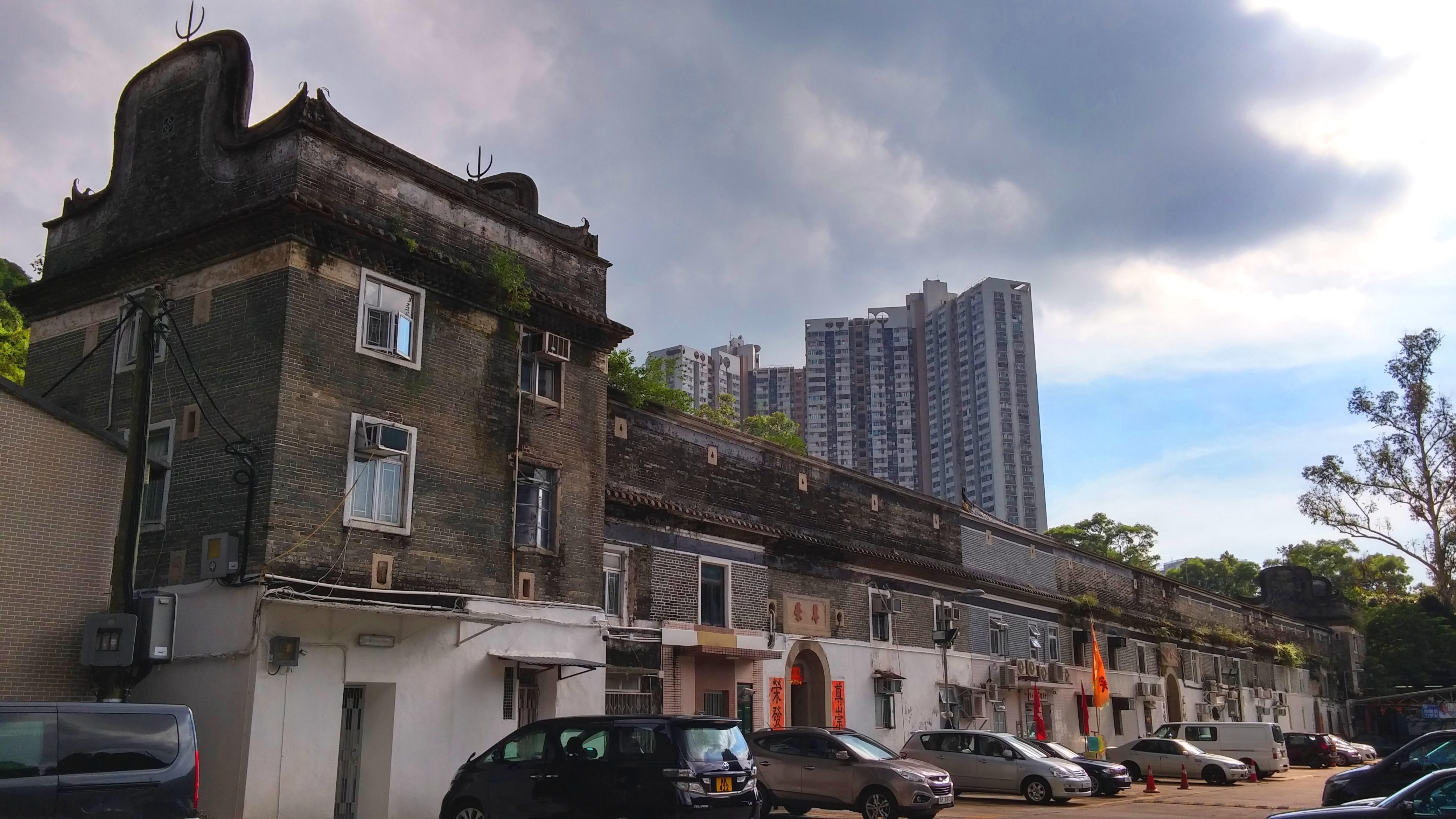 Tsang Tai Uk Walled House in Sha Tin