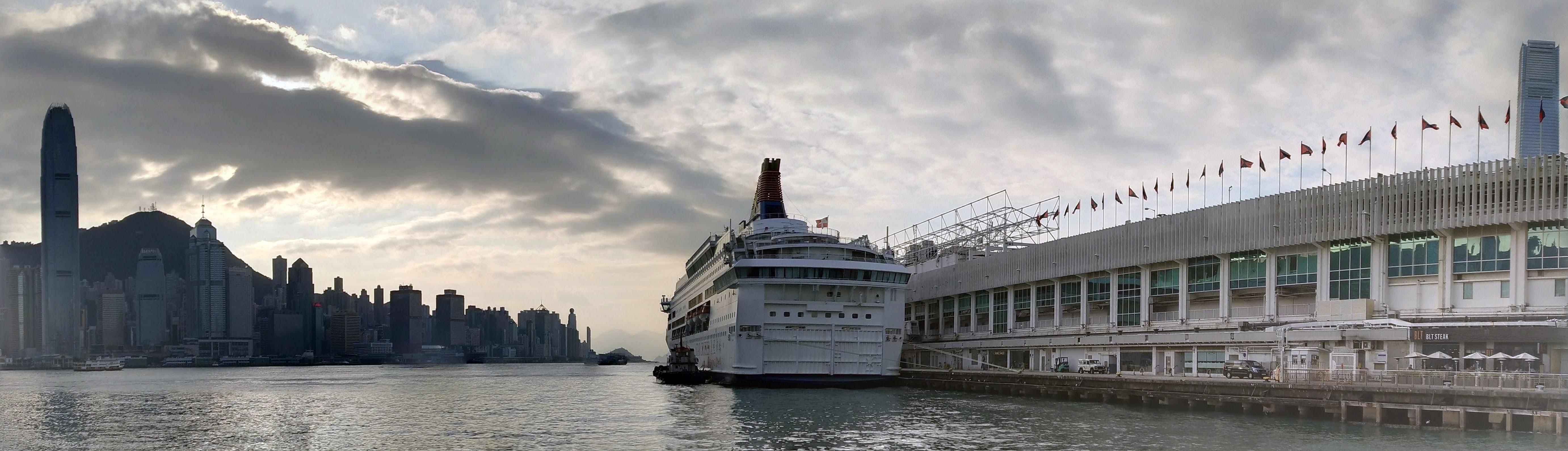 Victoria Harbor, IFCII, Star Cruise, Ocean Terminal and ICC