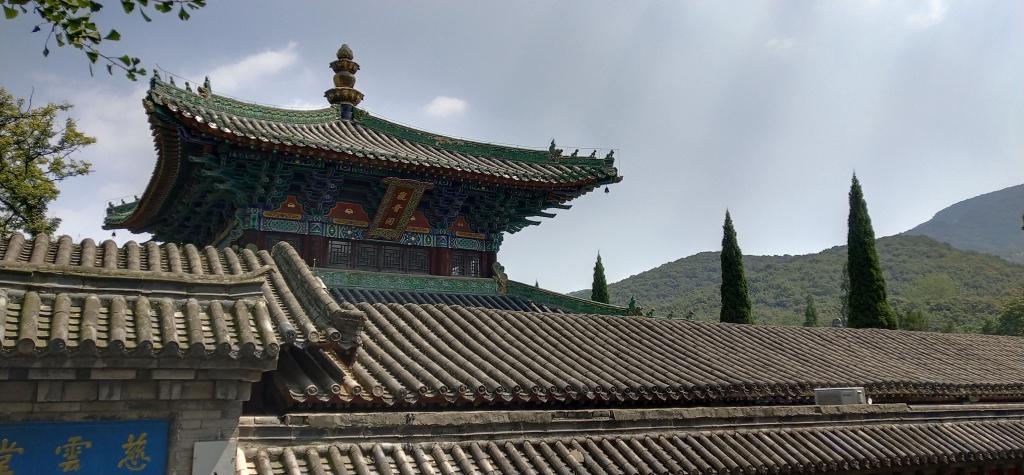 temple, hill, sky
