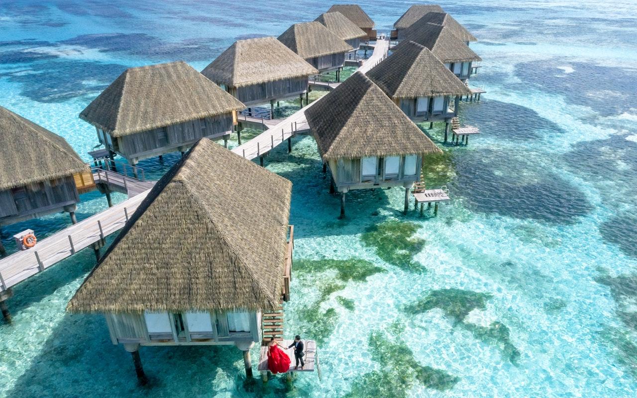bungalow, sea