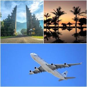 Bali holiday with Hong Kong stopover