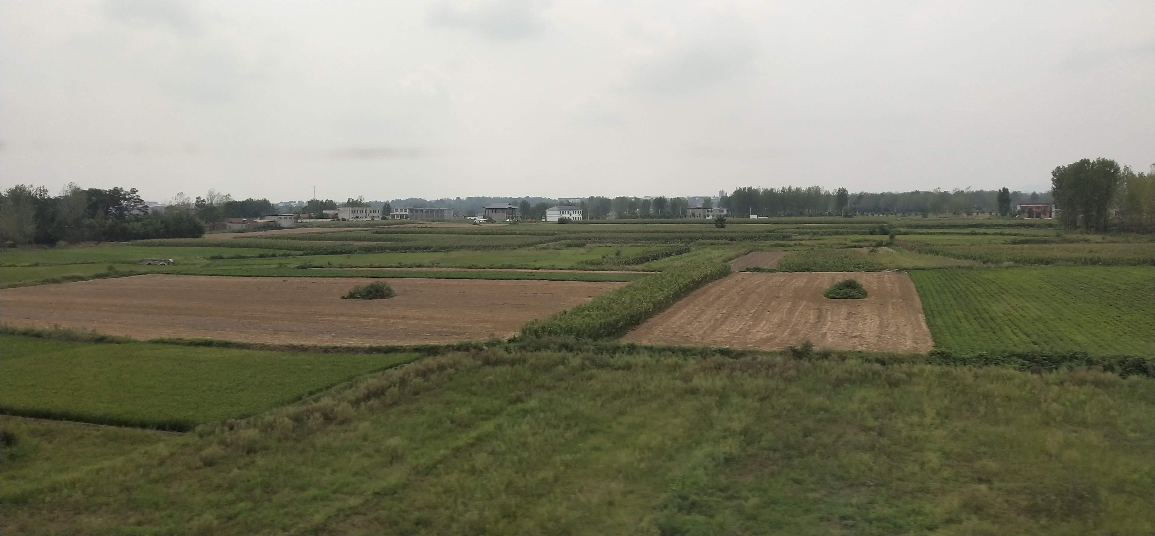 farmland near Zhengzhou Henan Province in Central China
