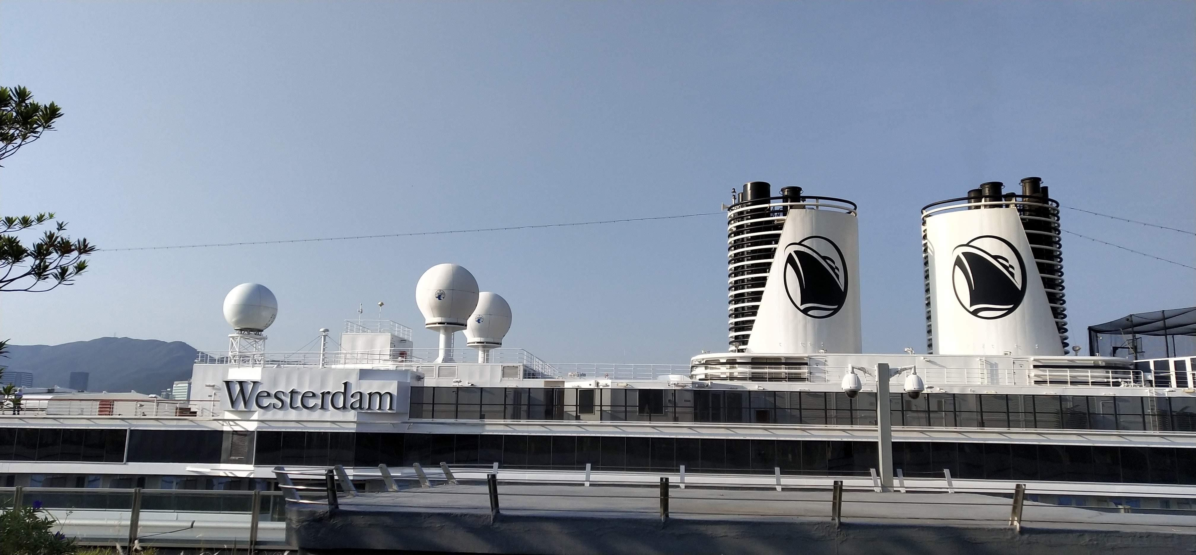 Westerdam cruise in Hong Kong