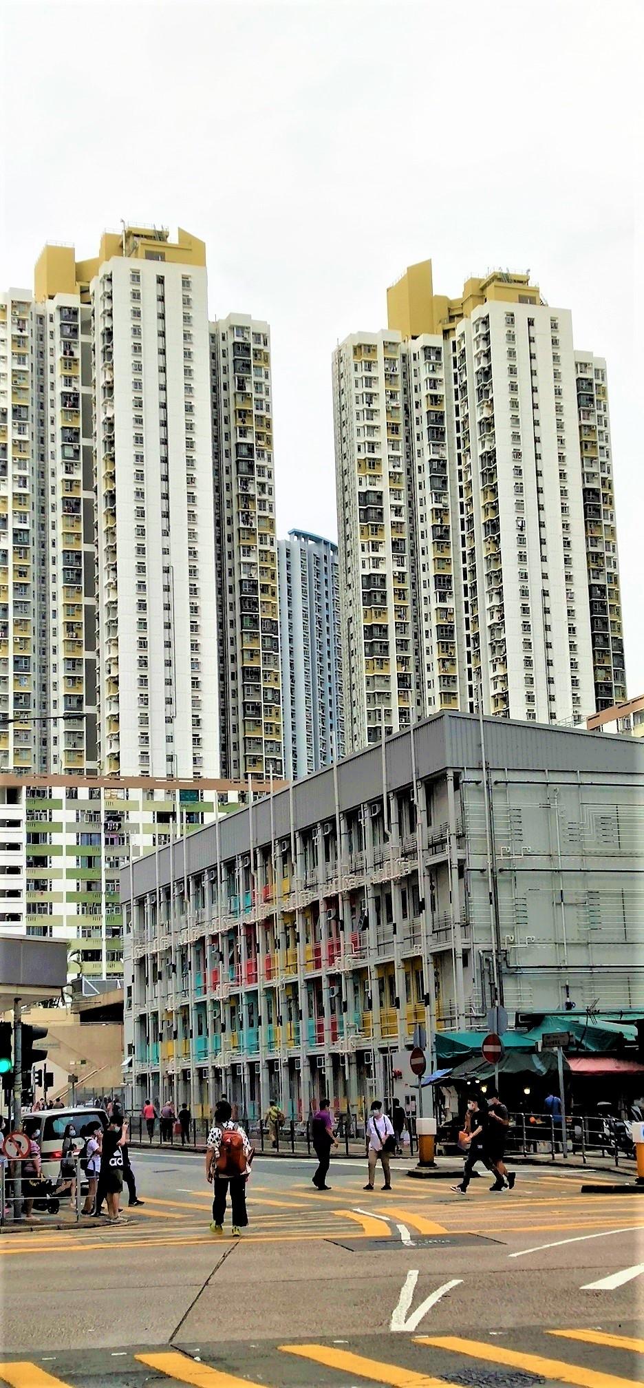 Transtional housing is near the public housing estate.