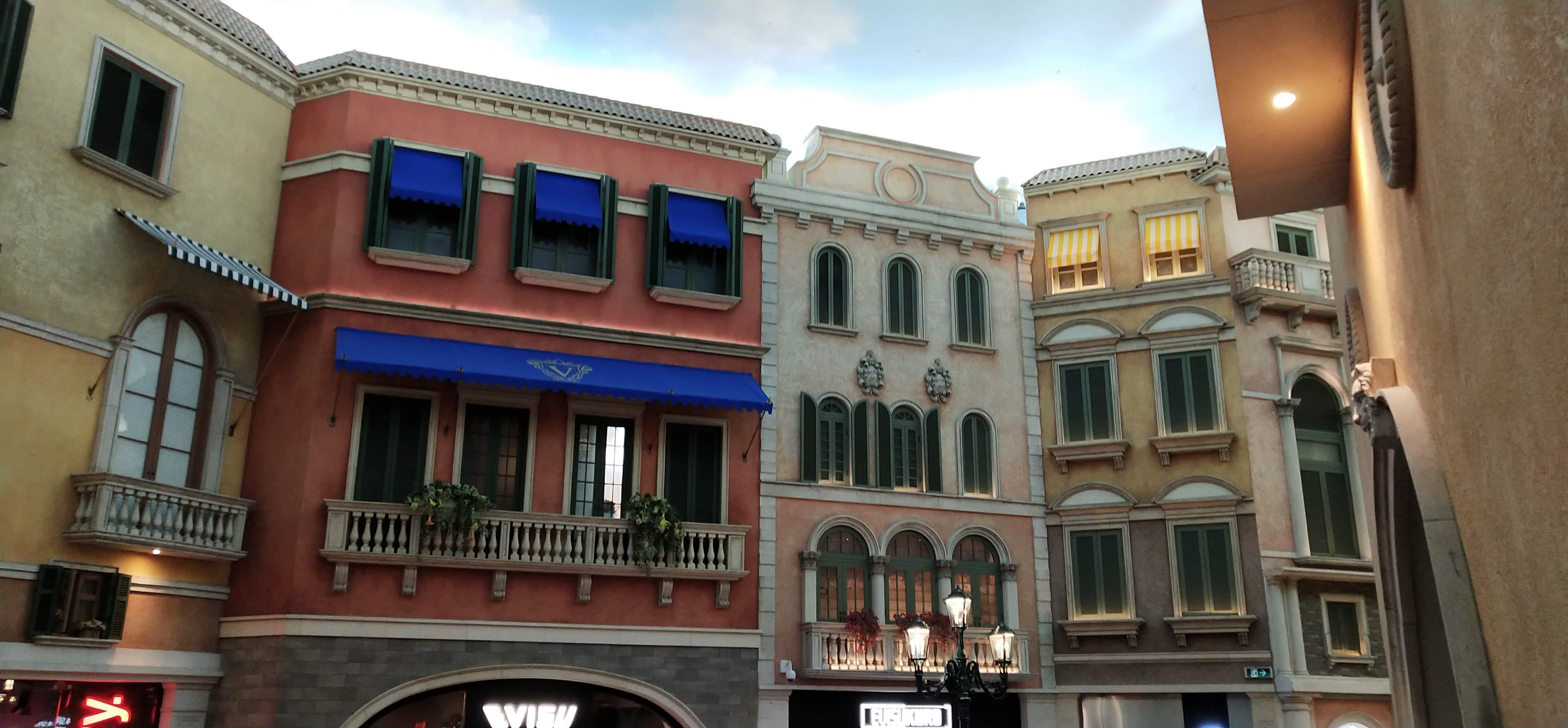 It is easy to get lost in the large Venetian Macau