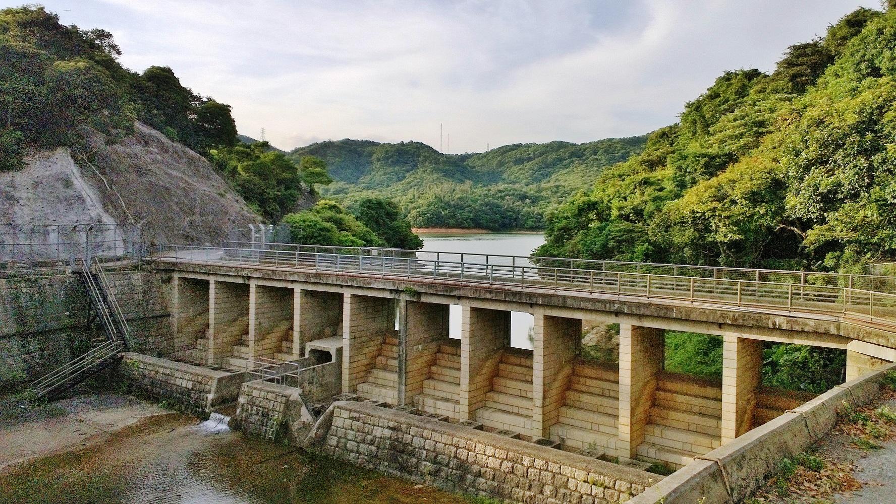 Kowloon Reservoir Spillway Dam