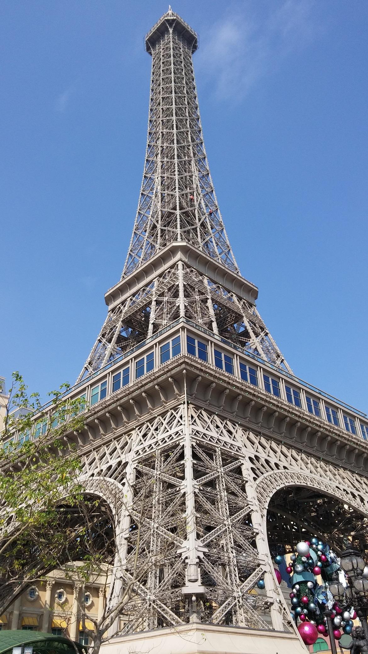 Mini Eiffel Tower in Macau