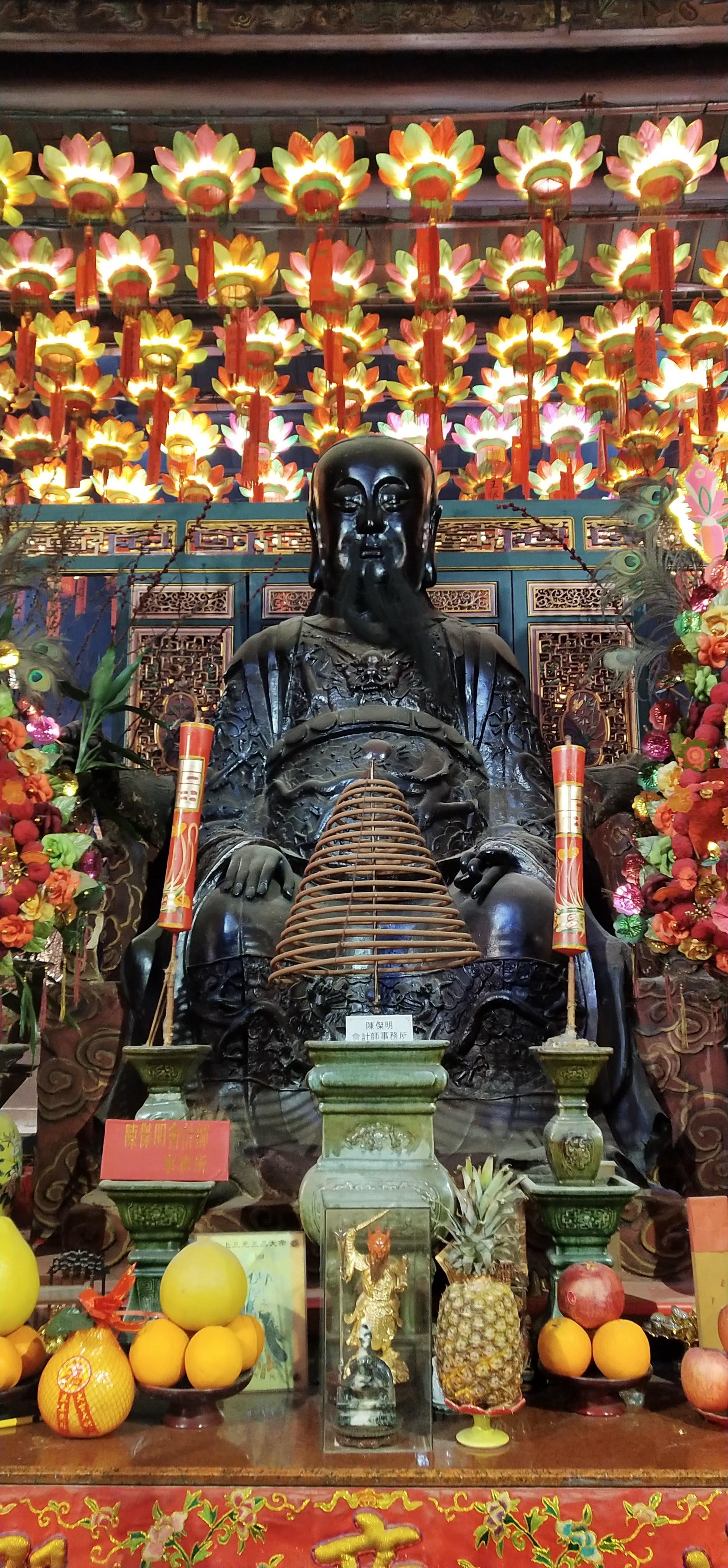 The large Pak Tai Statue