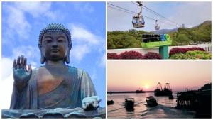Big Buddha, Ngong Ping Cable Car and Tai O are the sightseeing points at Lantau Island.