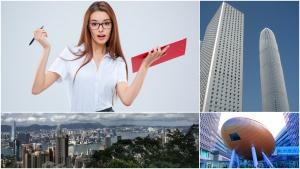 Secretary planning Hong Kong business trip for the boss