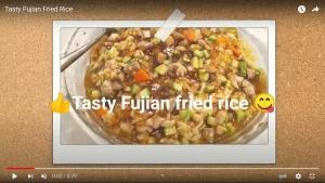 Tasty Fujian Fried Rice video screenshot